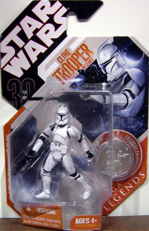Clone Trooper 30th Anniversary Saga Legends, Attack Clones