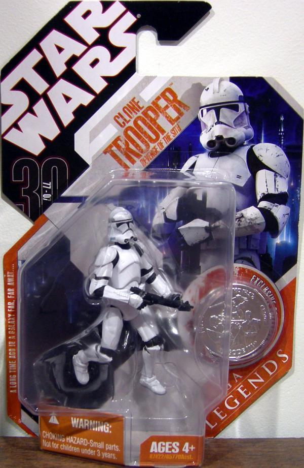 Clone Trooper 30th Anniversary Saga Legends, Revenge Sith