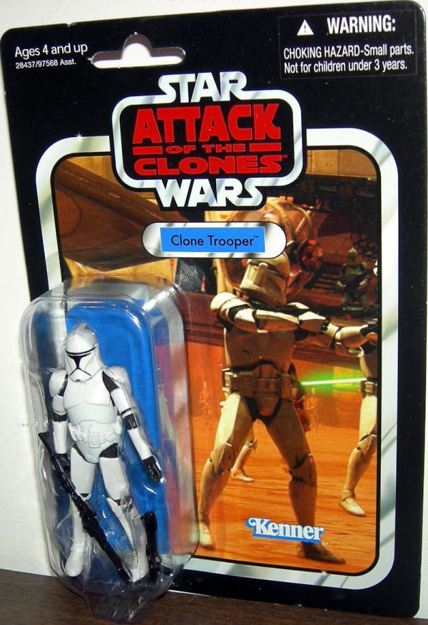 Clone Trooper VC45 Star Wars Attack Clones action figure