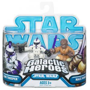 Clone Trooper Mace Windu Galactic Heroes