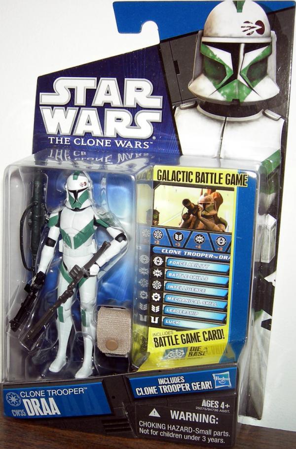 Clone Trooper Draa CW35