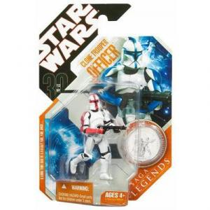 Clone Trooper Officer 30th Anniversary Saga Legends, red