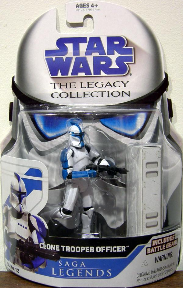 Clone Trooper Officer Legacy Collection, blue
