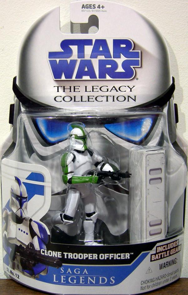 Clone Trooper Officer Legacy Collection, green