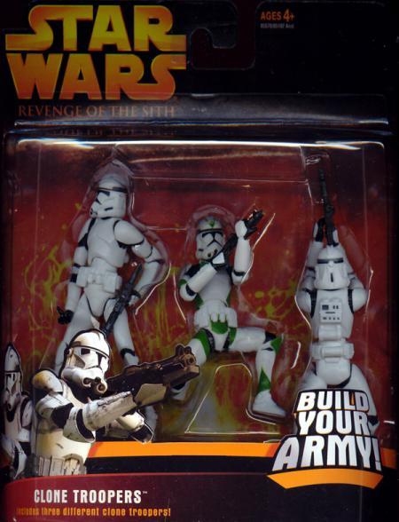 Clone Troopers Revenge Sith Clone Trooper Sergeant