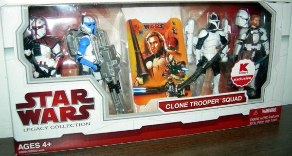 Clone Trooper Squad K-Mart Exclusive