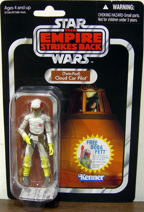 Twin-Pod Cloud Car Pilot VC11 Star Wars Empire Strikes Back figure