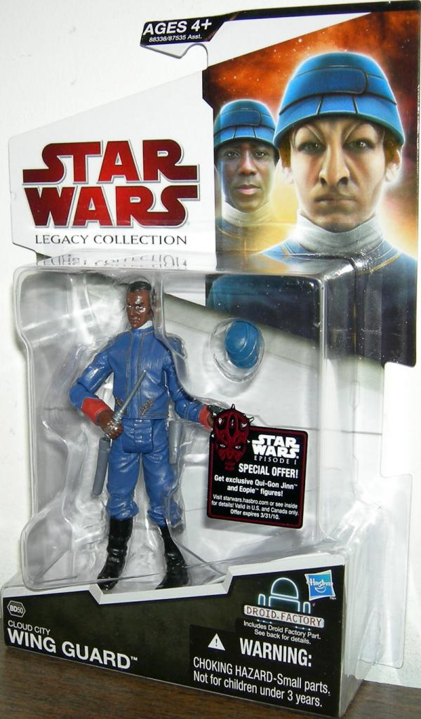 Cloud City Wing Guard BD50 Star Wars Legacy Collection action figure