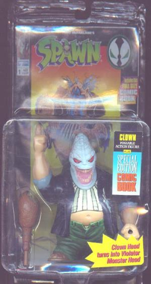 Clown Action Figure Spawn Series 1 Todd McFarlane Toys
