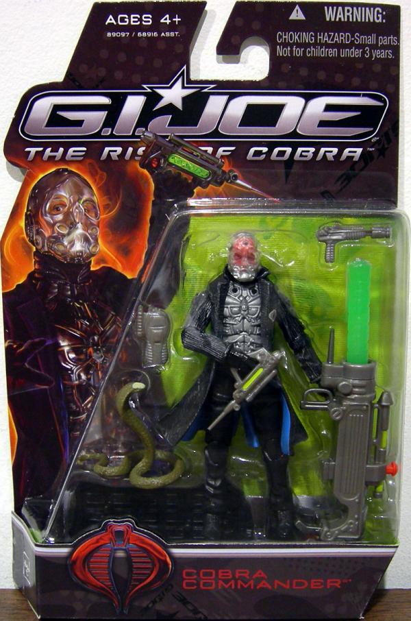 Cobra Commander GI Joe Rise action figure