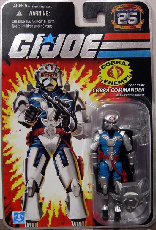 Code Name- Cobra Commander battle armor action figure