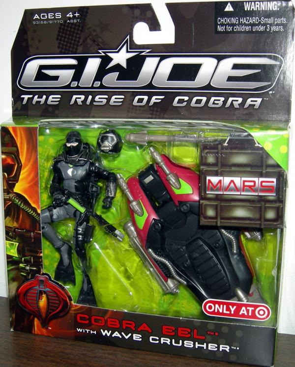 Cobra Eel with Wave Crusher Action Figure GI Joe