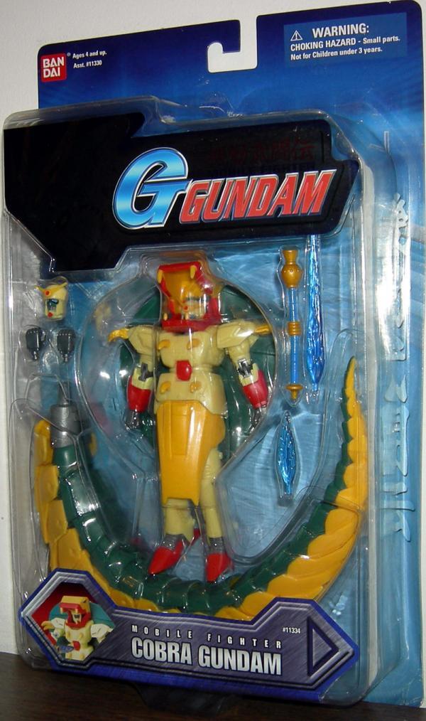 Cobra Gundam Wing action figure