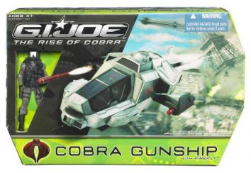 Cobra Gunship Firefly Rise Cobra action figure