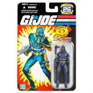 Cobra Leader Code Name Cobra Commander Hooded Mask action figure