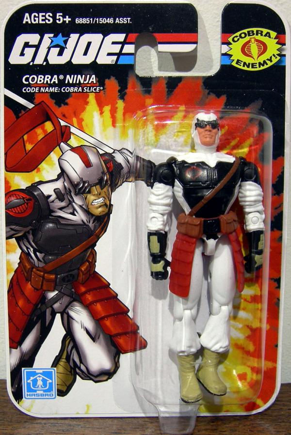 Cobra Ninja Code Name- Cobra Slice action figure