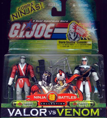 Cobra Slash Cobra Slice 2-Pack action figures