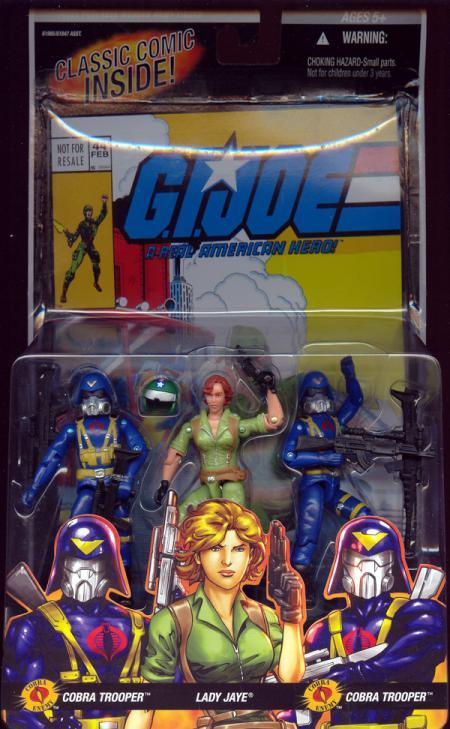 Cobra Trooper, Lady Jaye Cobra Trooper 3-Pack