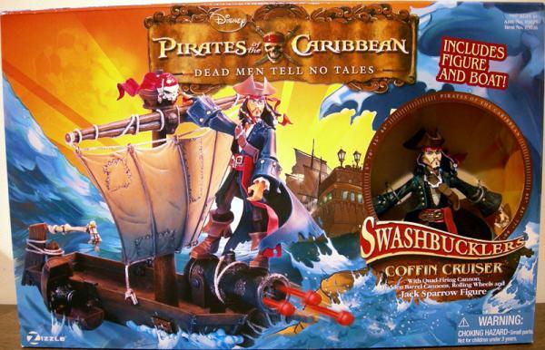 Coffin Cruiser Jack Sparrow Swashbucklers