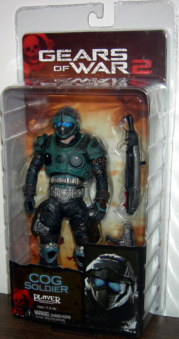 COG Soldier Series 6 Gears of War 2 Action Figure