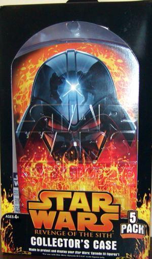 Star Wars Revenge Sith Collectors Case 5-Pack