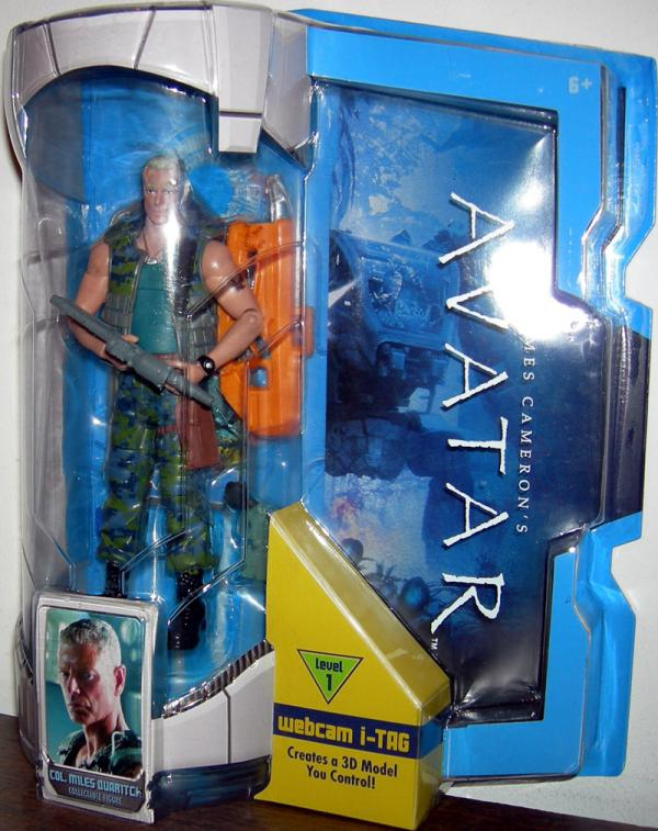 Col Miles Quaritch Action Figure 7 Inch Avatar Collectible