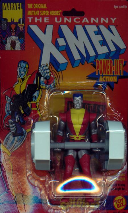 Colossus Power Lift Action figure X-Men