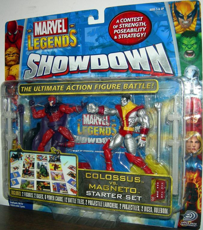 Colossus vs Magneto Marvel Legends Showdown action figures