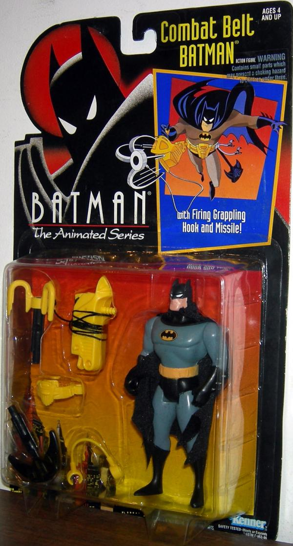 Combat Belt Batman Figure Animated Series Kenner