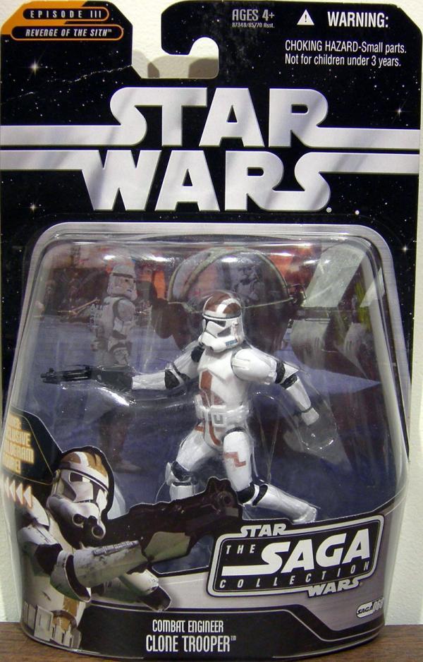 Combat Engineer Clone Trooper Action Figure Saga Collection 068