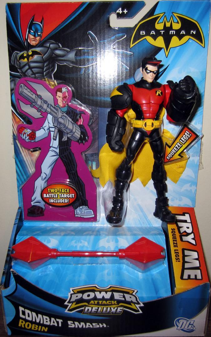 Combat Smash Robin action figure