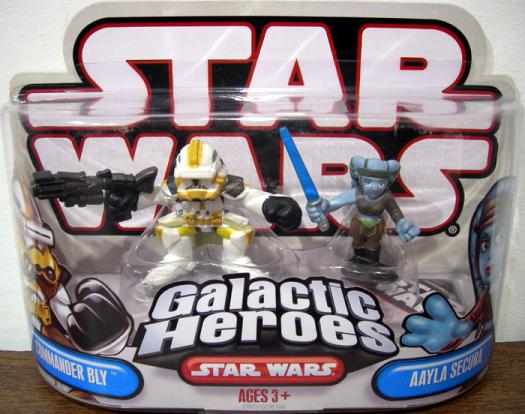 Commander Bly Aayla Secura Galactic Heroes
