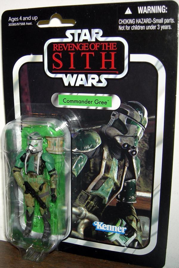 Commander Gree Figure VC43 Star Wars Revenge Sith Hasbro