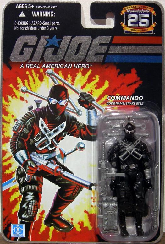 Commando Code Name- Snake Eyes, version 2