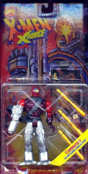 Commando Action Figure Techno Sludge Liquid Blaster X-Men X-Force
