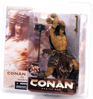 Conan Indomitable Action Figure McFarlane Toys Series One