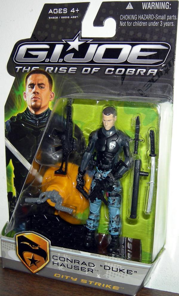 Conrad Duke Hauser City Strike Rise Cobra action figure