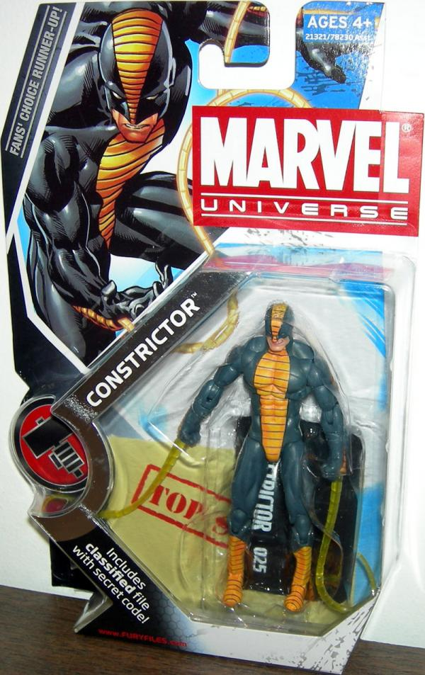 Constrictor Marvel Universe, series 2, 025