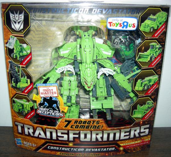 Constructicon Devastator Figure Legends Class Toys R Us Exclusive