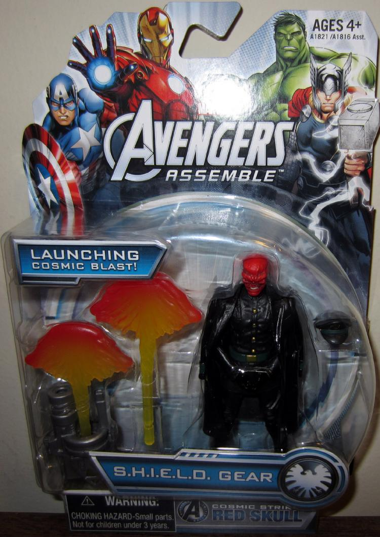 Cosmic Strike Red Skull Avengers Assemble action figure