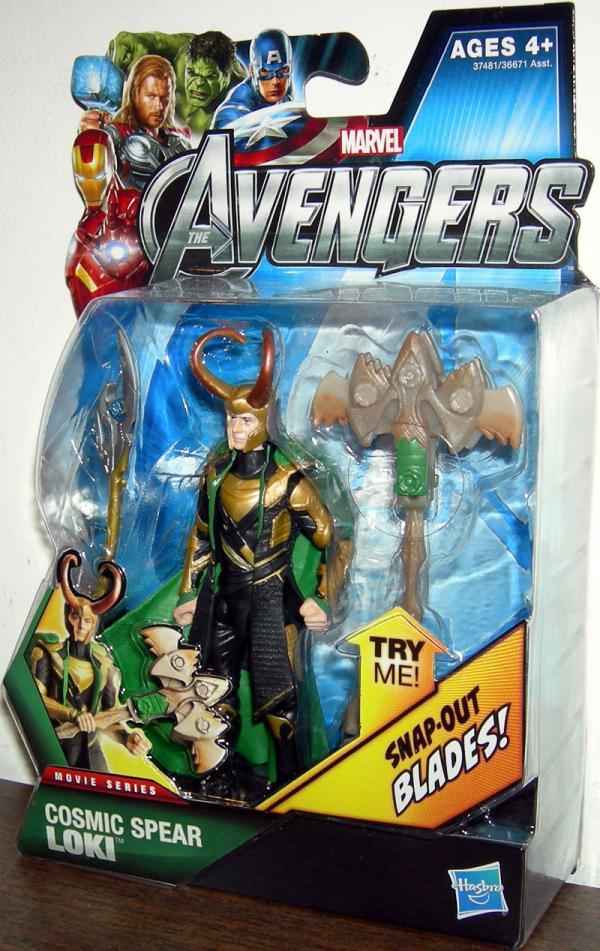 Cosmic Spear Loki Action Figure 12 Avengers Movie Series