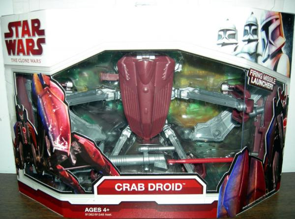Crab Droid Clone Wars
