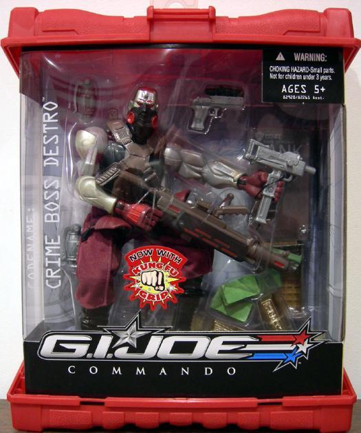 Crime Boss Destro Commando