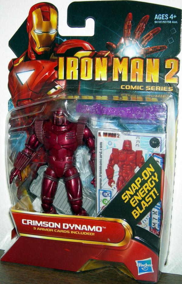 Crimson Dynamo 25 Iron Man 2 Movie action figure