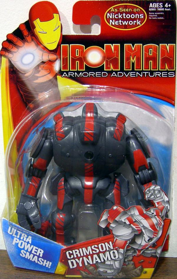 Crimson Dynamo Figure Iron Man Armored Adventures