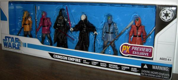 Crimson Empire 6-Pack Previews Exclusive action figures
