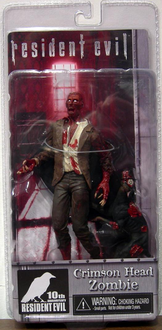 Crimson Head Zombie Action Figure 10th Anniversary Resident Evil