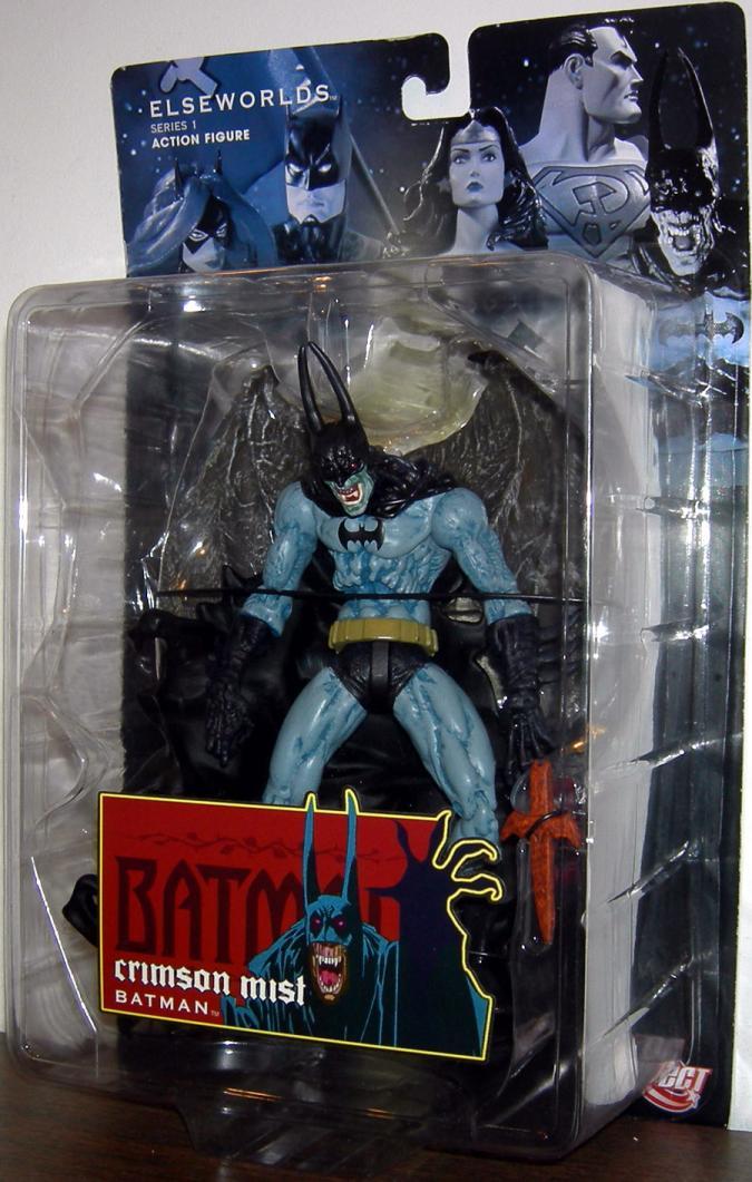 Crimson Mist Batman Elseworlds Series 1 action figure