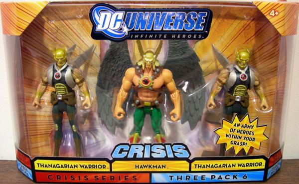 Hawkman 2 Thanagarian Warriors Crisis Series 6