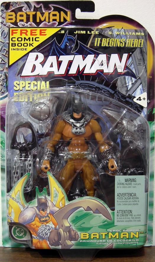 Croc Armor Batman